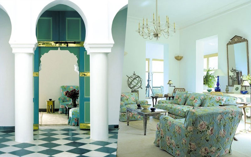 A look inside Yves Saint Laurent's Tangier house ...