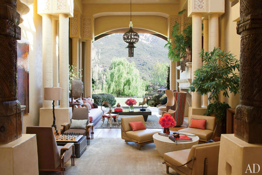 Will Smith's Morocco inspired home