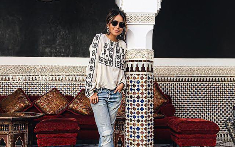 39f7c78289f Style icon Julie Sarinana s photos from her Moroccan trip are just ...