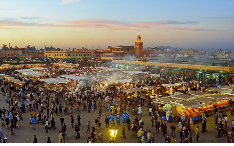 Jemaa El Fna One Of The Most Tempting Places To Visit In The World Moroccan Ladies