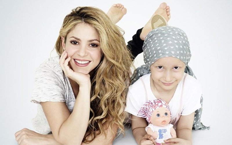 Shakira Designs A Bald Doll To Help Children With Cancer In Morocco Moroccan Ladies