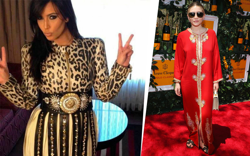 3143236190a 10 celebrities from around the world in Moroccan traditional wear ...