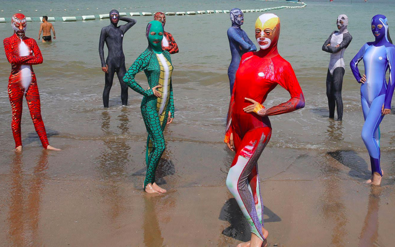 After burquini controversy in Europe, China's « Face-kini ...
