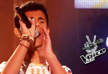 A young Moroccan sets the stage on fire on the German voice kids