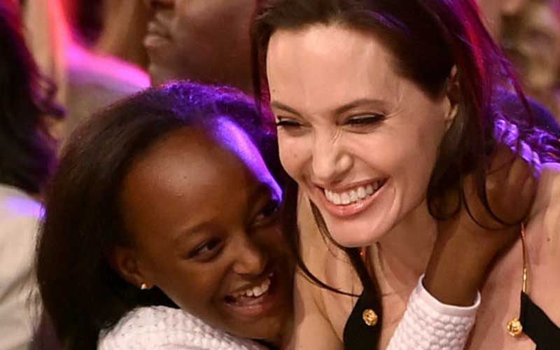 Biological mother of Angelina Jolie's daughter, Zahara