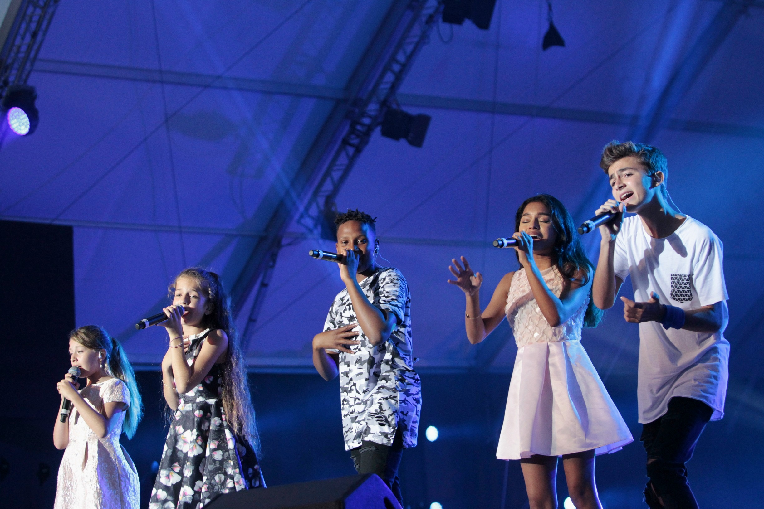 Unicef S Successful Group Quot Kids United Quot Preformed At The