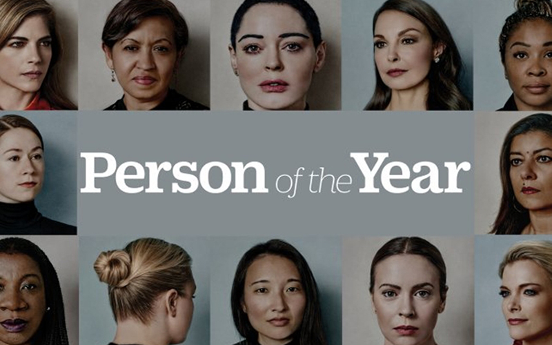 women who broke silence named time�s person of the year