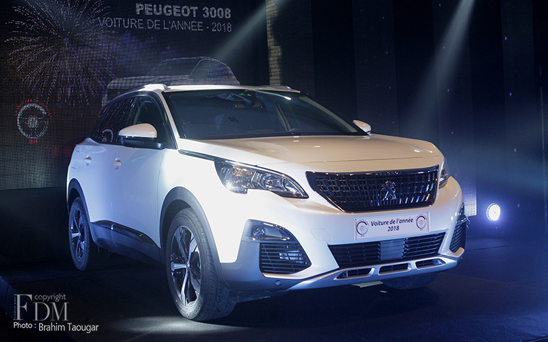 2018 Automotive Trophies The Peugeot 3008 Sacred Car Of The Year Moroccan Ladies