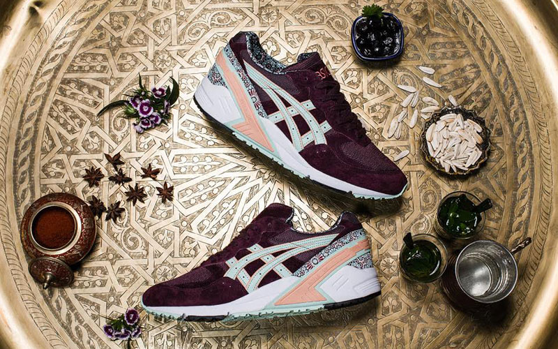 Asics releases Morocco inspired sneakers Moroccan Ladies