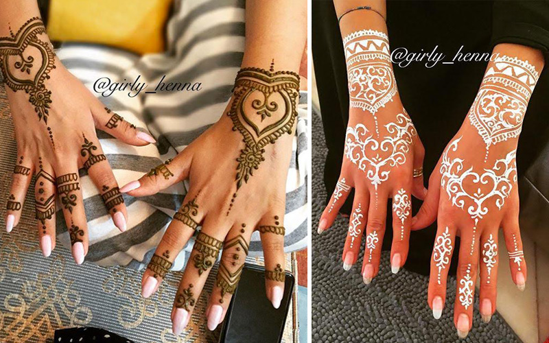 This Instagram Account Will Make You A Henna Fan Moroccan Ladies
