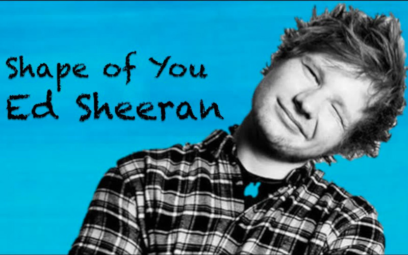 Shape of You – Ed Sheeran Lyrics