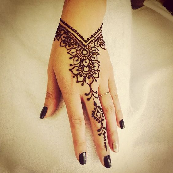 Wrist Tattoo Designs Henna Eid: 8 Simple Henna Designs For Eid
