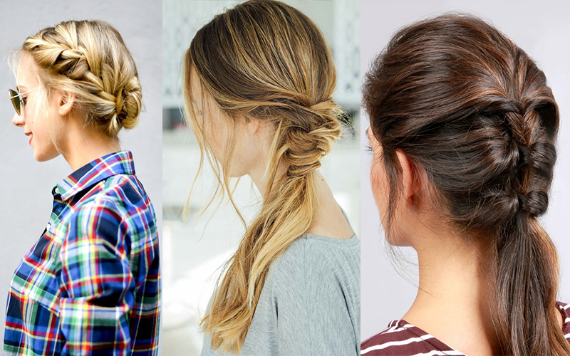 Hairstyles ideas for hot Summer days